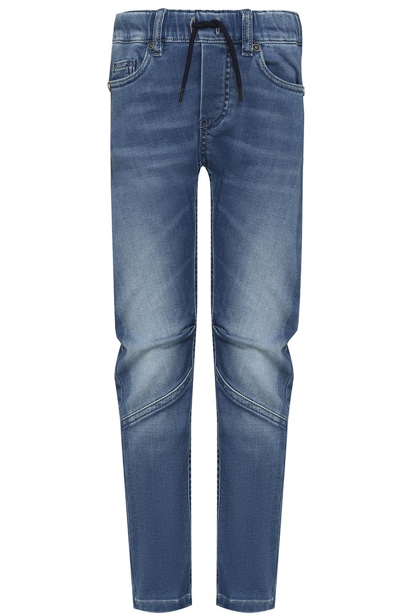 John Galliano Children Синие потертые джинсы