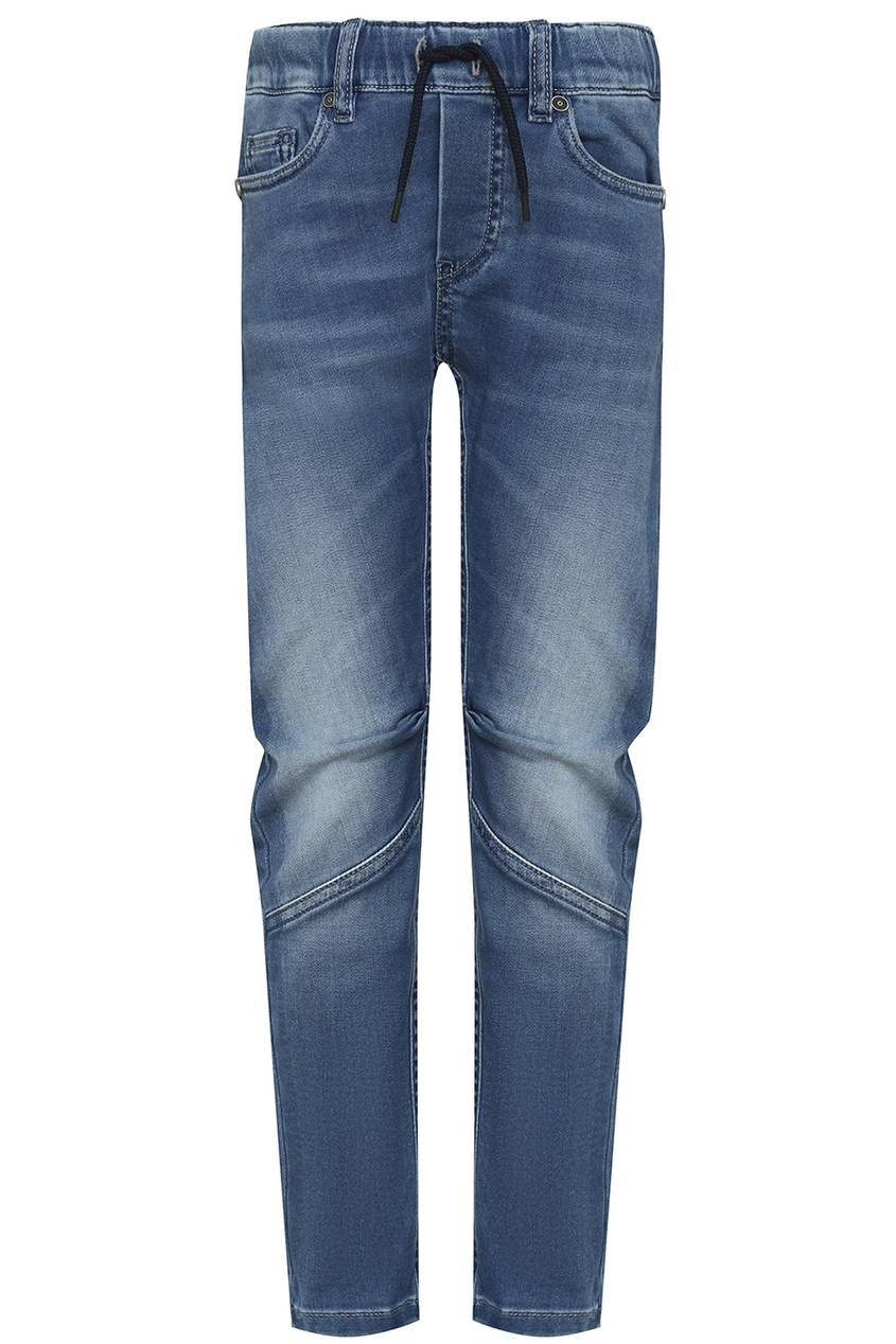 John Galliano Children Синие потертые джинсы джинсы john galliano kids джинсы