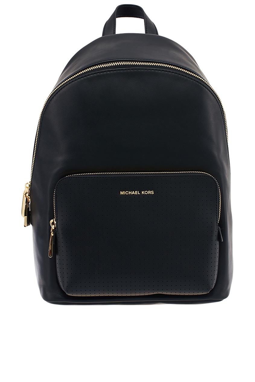 Michael Kors Кожаный рюкзак Wythe с перфорацией рюкзак michael michael kors michael michael kors mi048bwaecc9