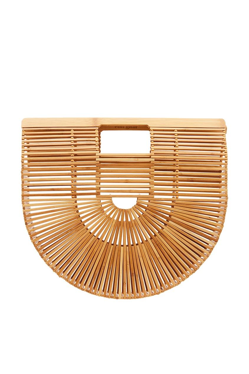 Полукруглая сумка из бамбуковых палочек Ark