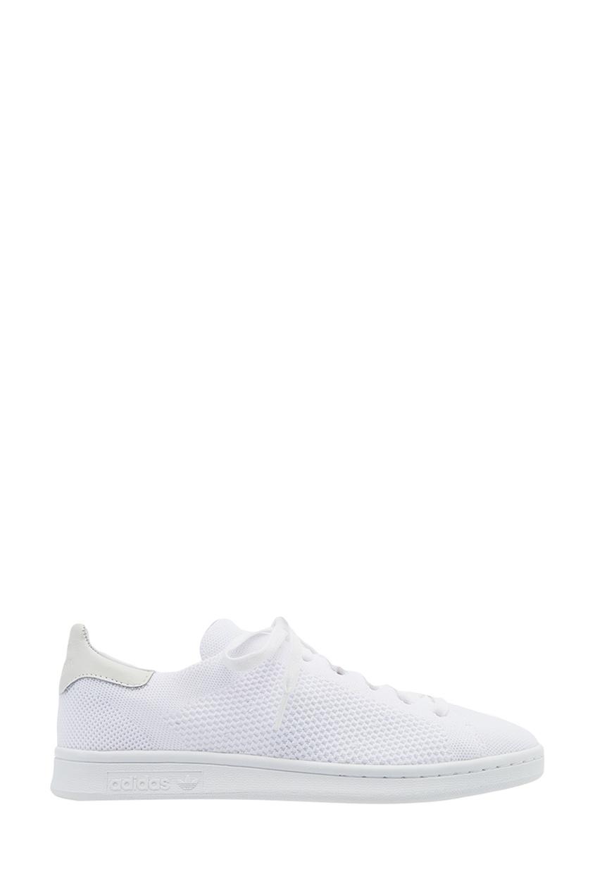 Adidas Белые кеды Stan Smith PK кеды adidas кеды дет спорт stan smith c