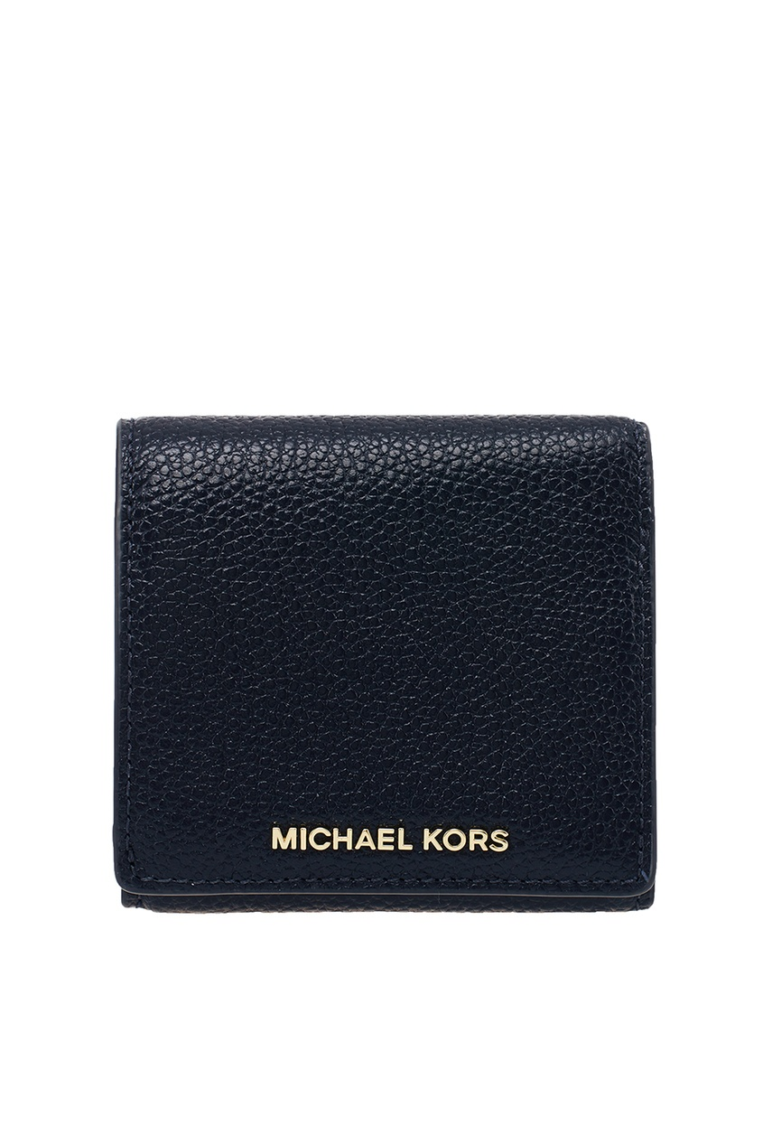 Michael Kors Синий кожаный кошелек Money Pieces