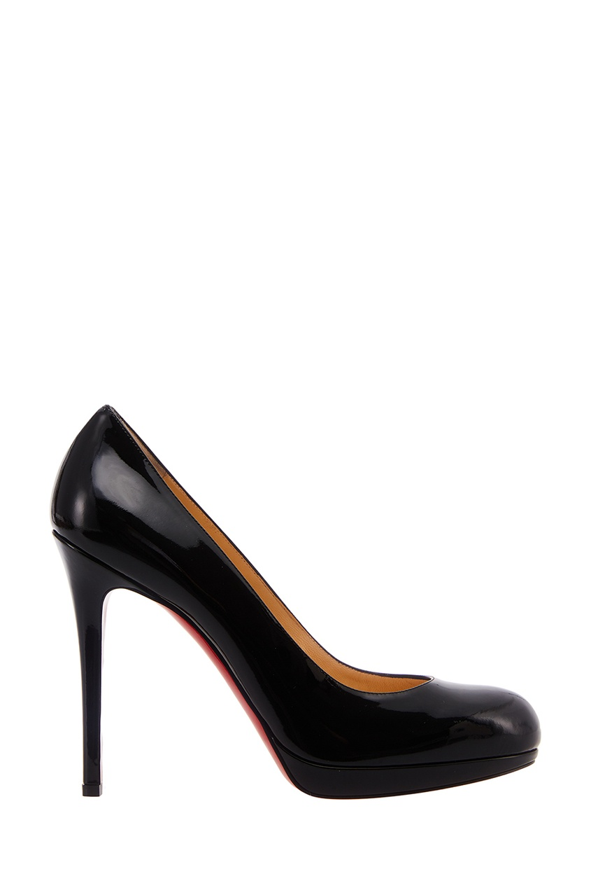 Christian Louboutin Черные лакированные туфли New Simple Pump 120 lx pump ea320 ea350 pump wet end pump body