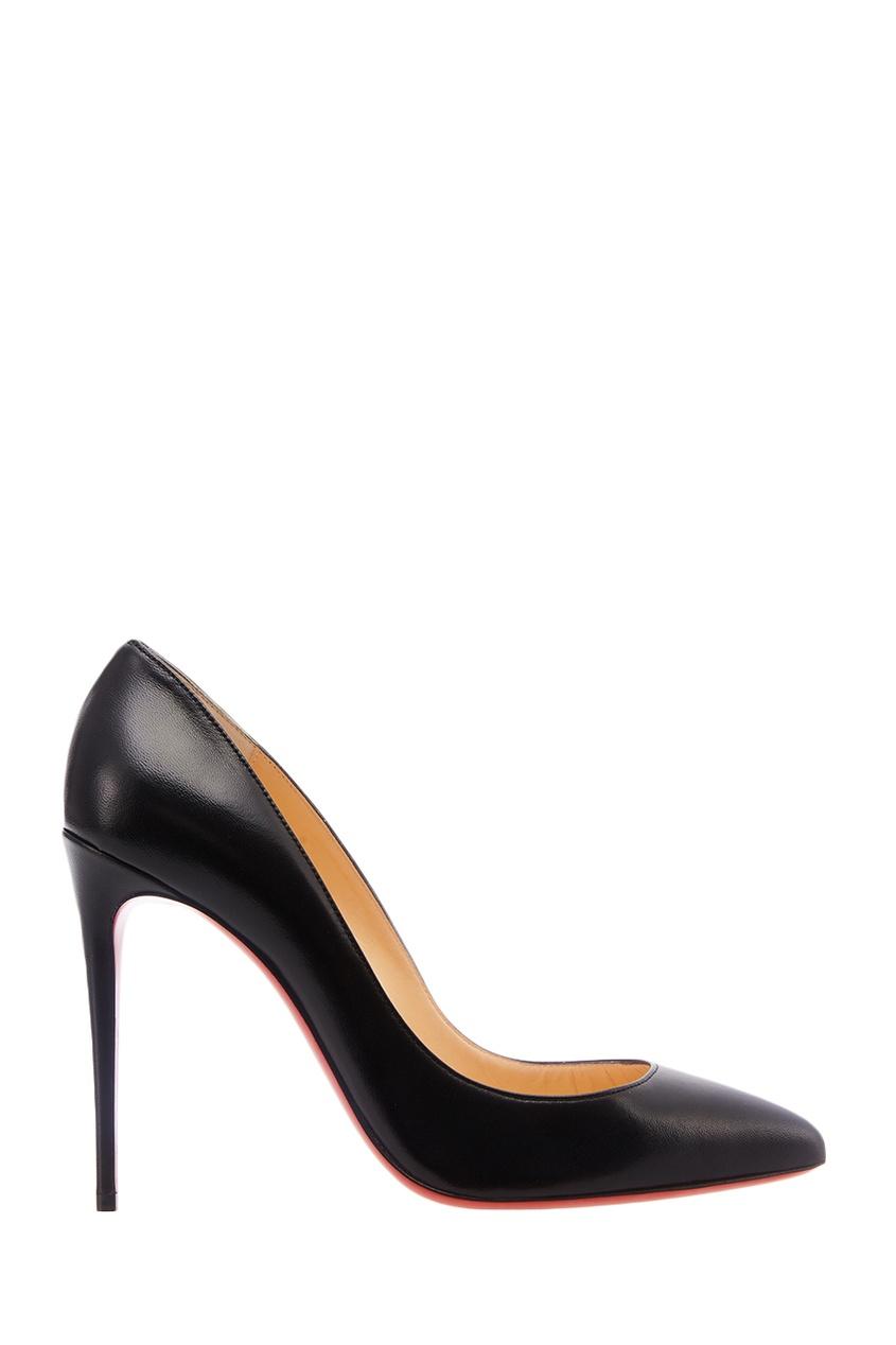 Черные туфли Pigalle Follies 100 Christian Louboutin