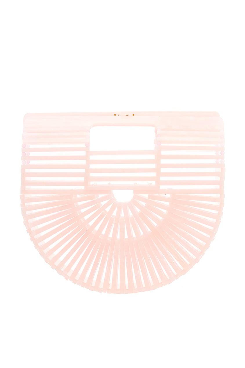 Cult Gaia Розовая каркасная сумка Ark roland gaia sh 01