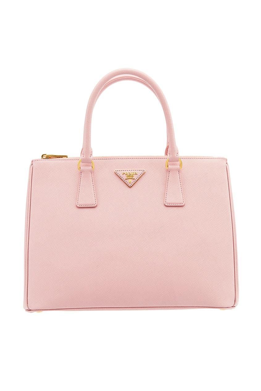 Розовая сумка Galleria