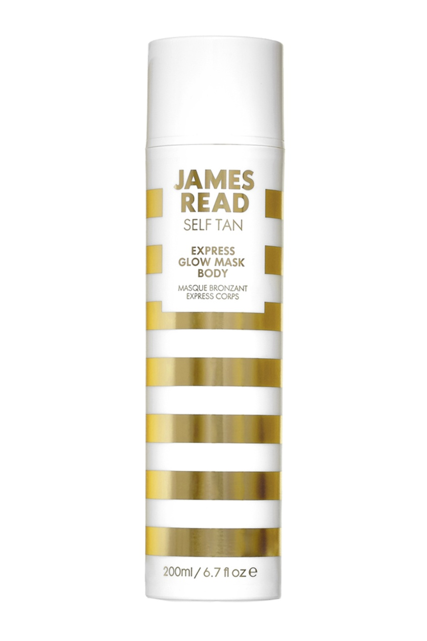 James Read Экспресс-маска для тела автозагар EXPRESS GLOW MASK TAN BODY, 200 ml средства для загара james read рукавичка для нанесения загара enhance tanning mitt