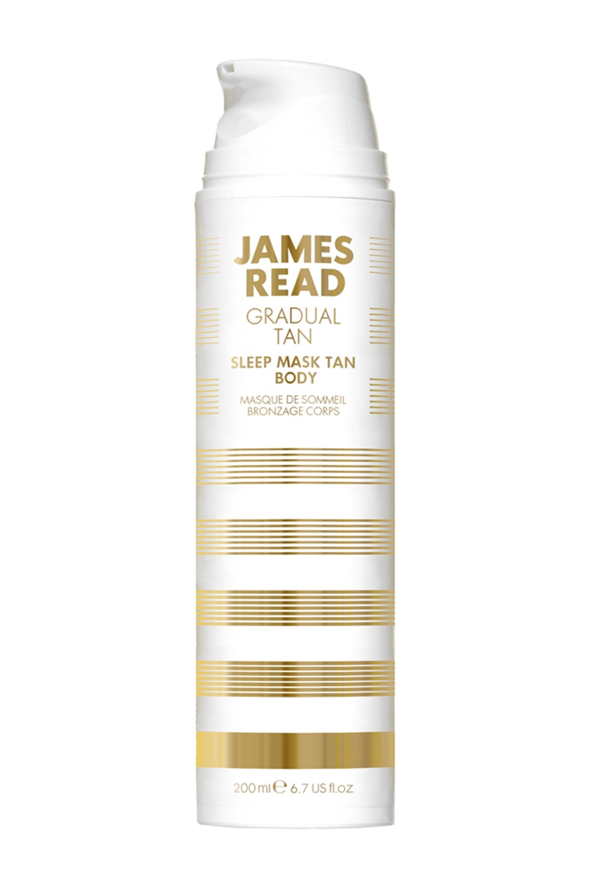 James Read Ночная маска для тела Уход и Загар SLEEP MASK TAN BODY, 200 ml средства для загара james read рукавичка для нанесения загара enhance tanning mitt