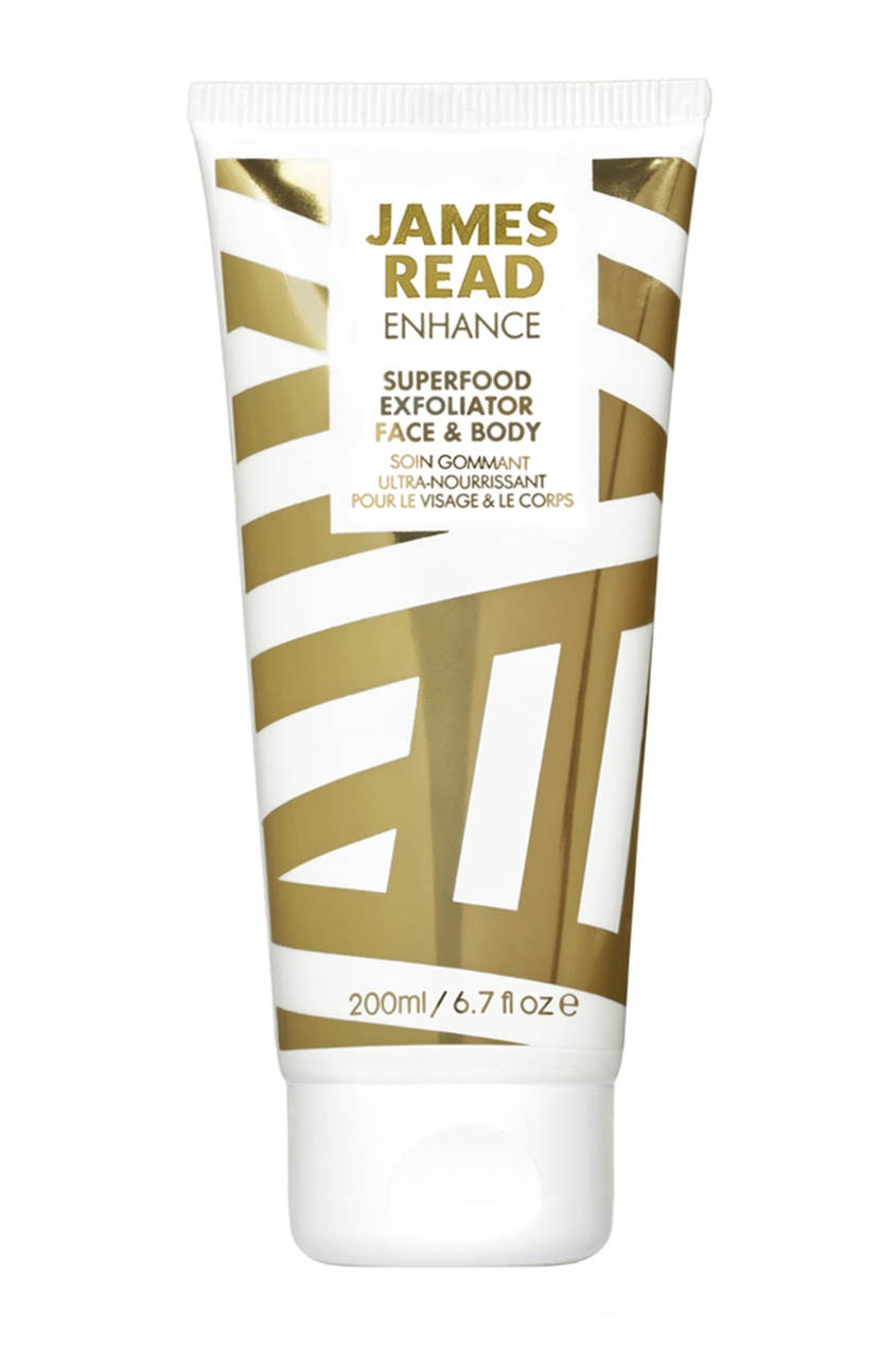 James Read Крем-скраб для лица и тела SUPERFOOD EXFOLIATOR FACE & BODY, 200 ml ahava deadsea water mineral body exfoliator минеральный скраб для тела 200 мл