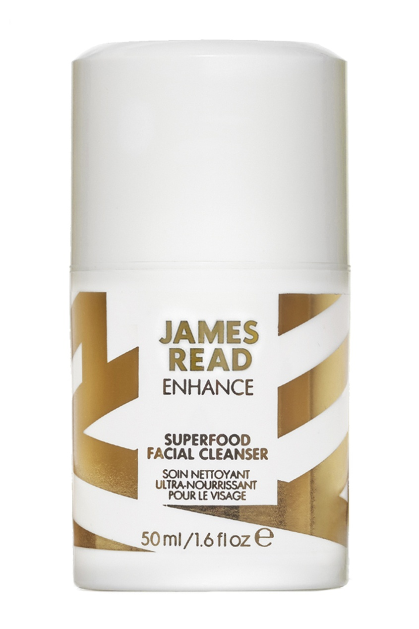 James Read Очищающий гель для лица SUPERFOOD FACIAL CLEANSER, 50 ml средства для загара james read рукавичка для нанесения загара enhance tanning mitt