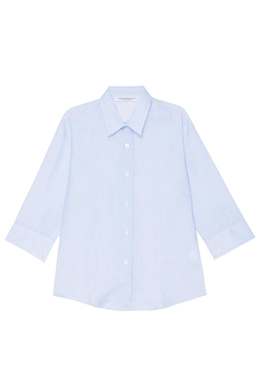 Amina Rubinacci Льняная рубашка в горох рубашка в мелкий горошек