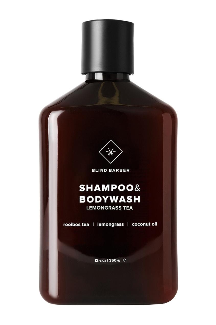 Шампунь для волос и тела LEMONGRASS TEA, 350 ml