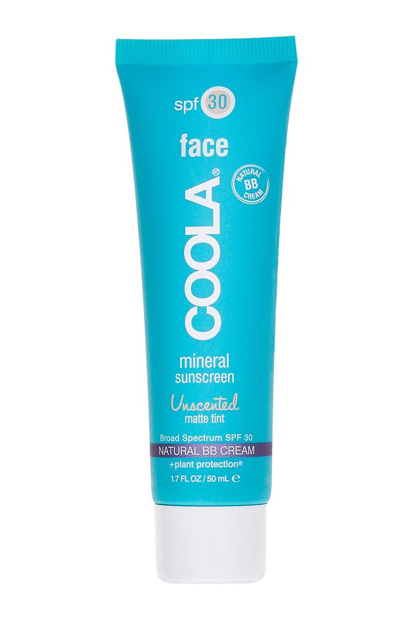 Солнцезащитный матирующий крем для лица с тональным эффектом SPF30, 50 ml