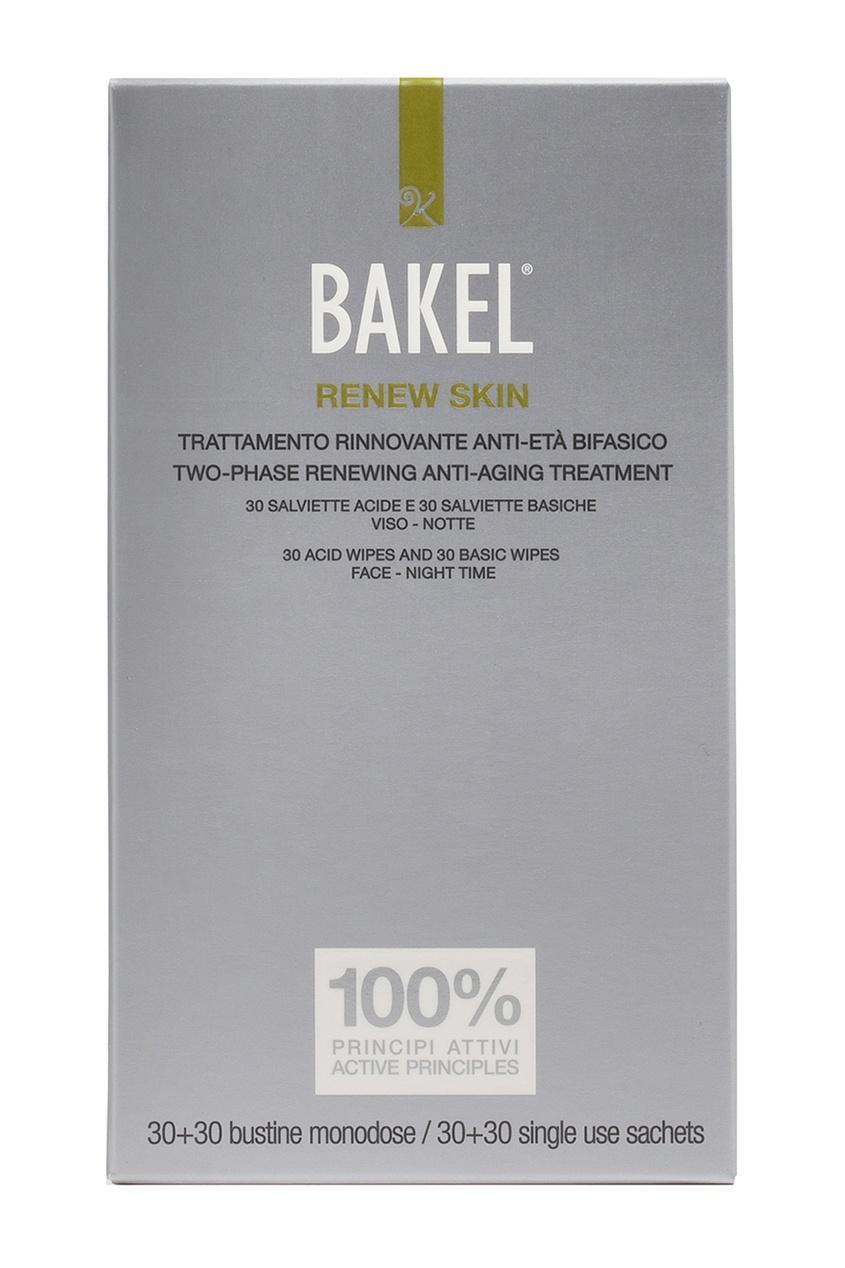 Bakel Влажные салфетки для обновления кожи, 60 шт.