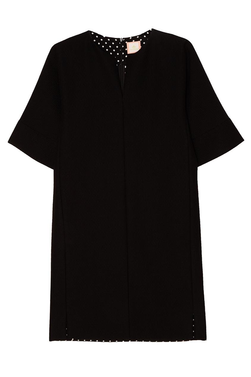где купить The Dress Черное платье с карманами по лучшей цене