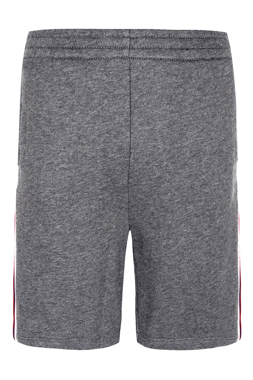 Gucci Children Серые шорты с лампасами gucci серые брюки
