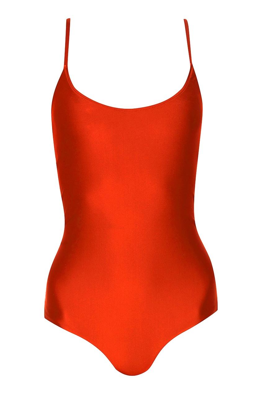 Слитный красный купальник Concepcion