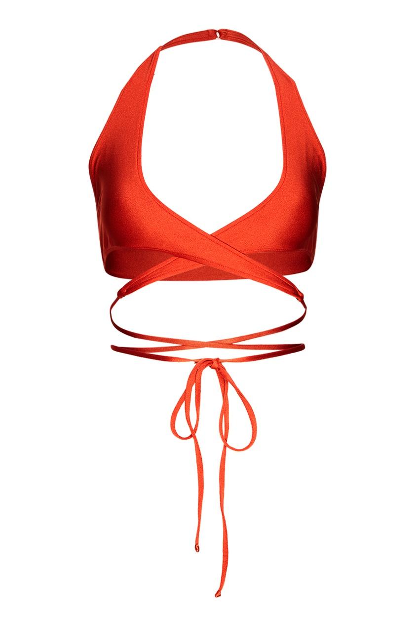 Красный раздельный купальник Tona