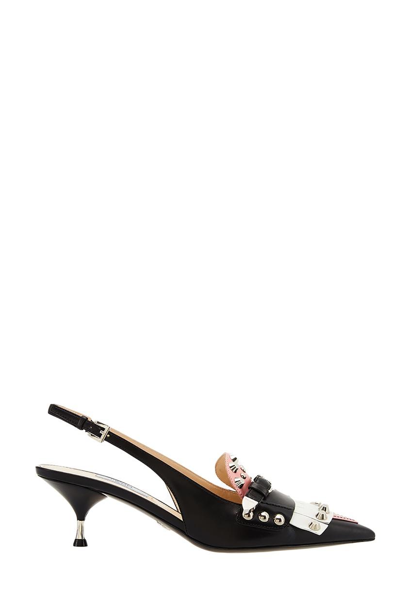 Prada Туфли с объемной отделкой