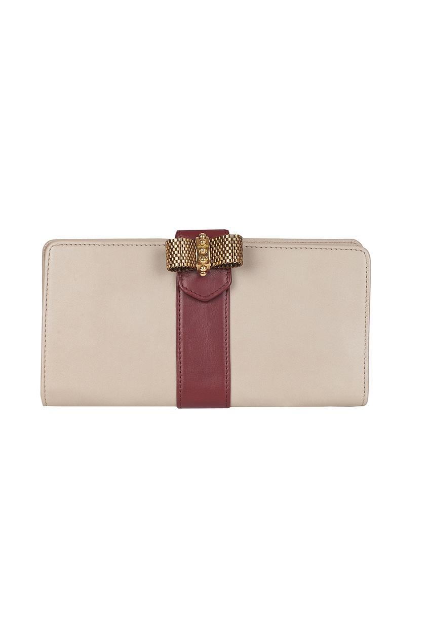 Кожаный кошелек Sc Long Wallet Patent Calf