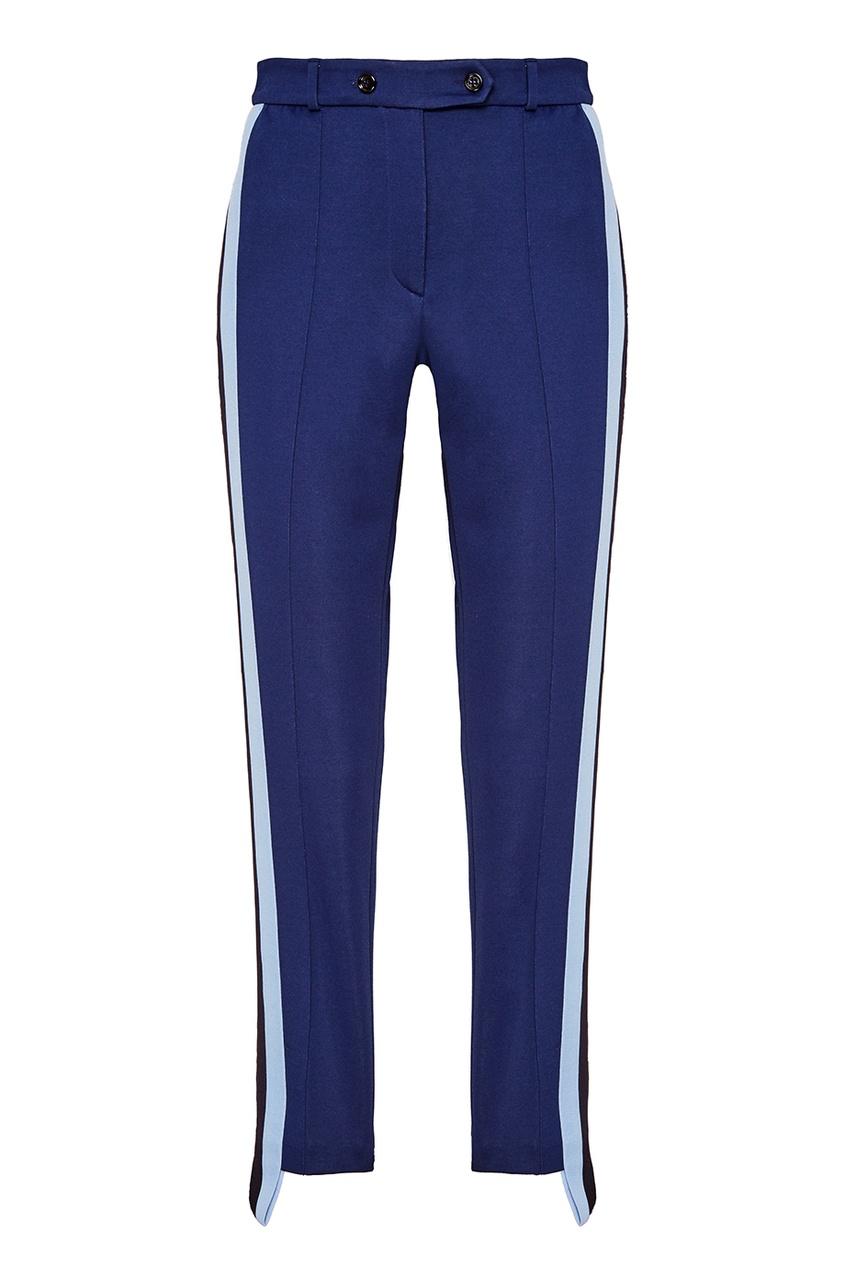 Golden Goose Deluxe Brand Синие брюки с лампасами