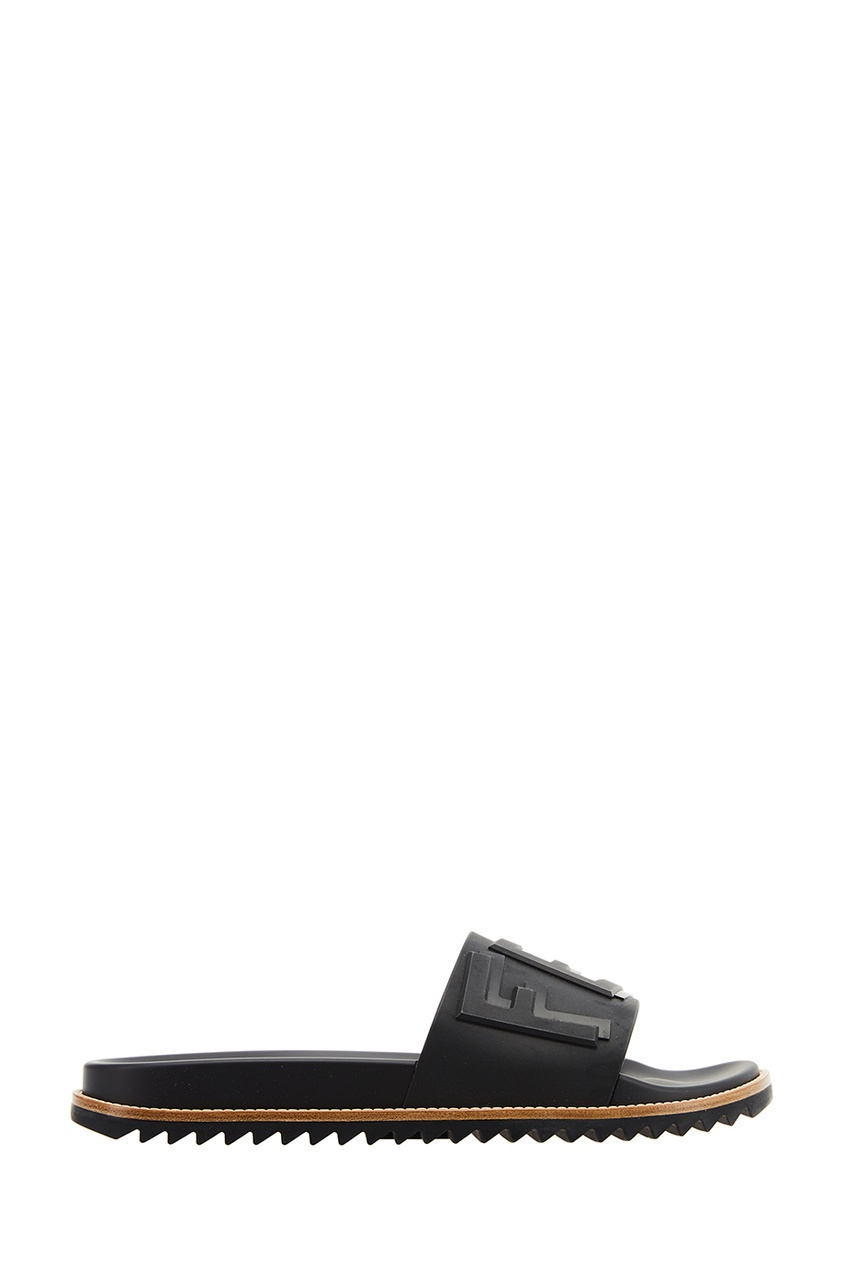 мужские сандалии fendi, черные