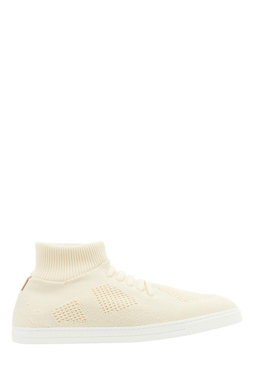 мужские кроссовки fendi, желтые