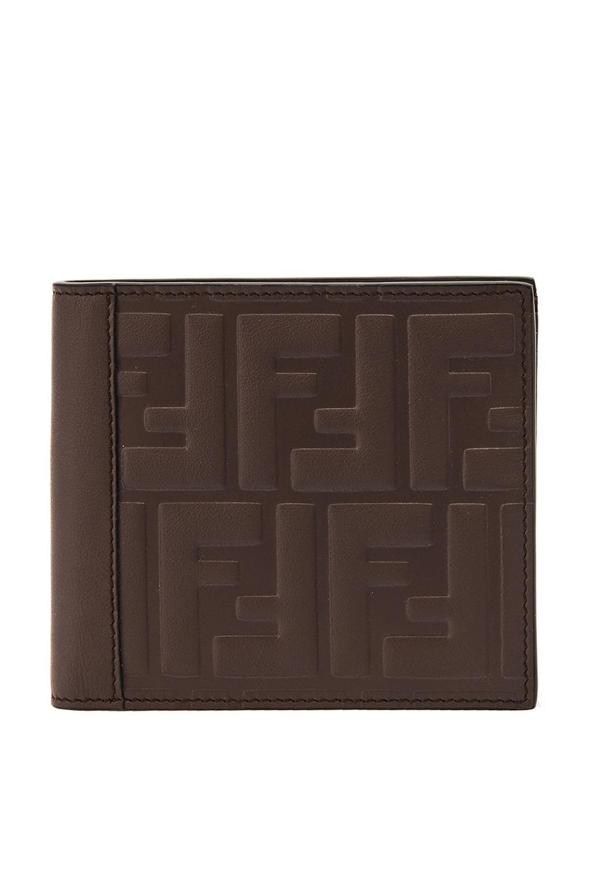 все цены на Fendi Коричневый кошелек с монограммами