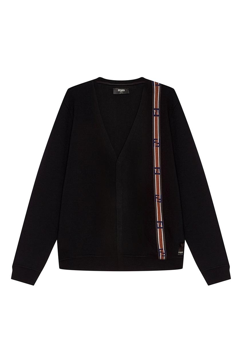 Fendi Кардиган с контрастной полосой кардиган versace collection кардиган