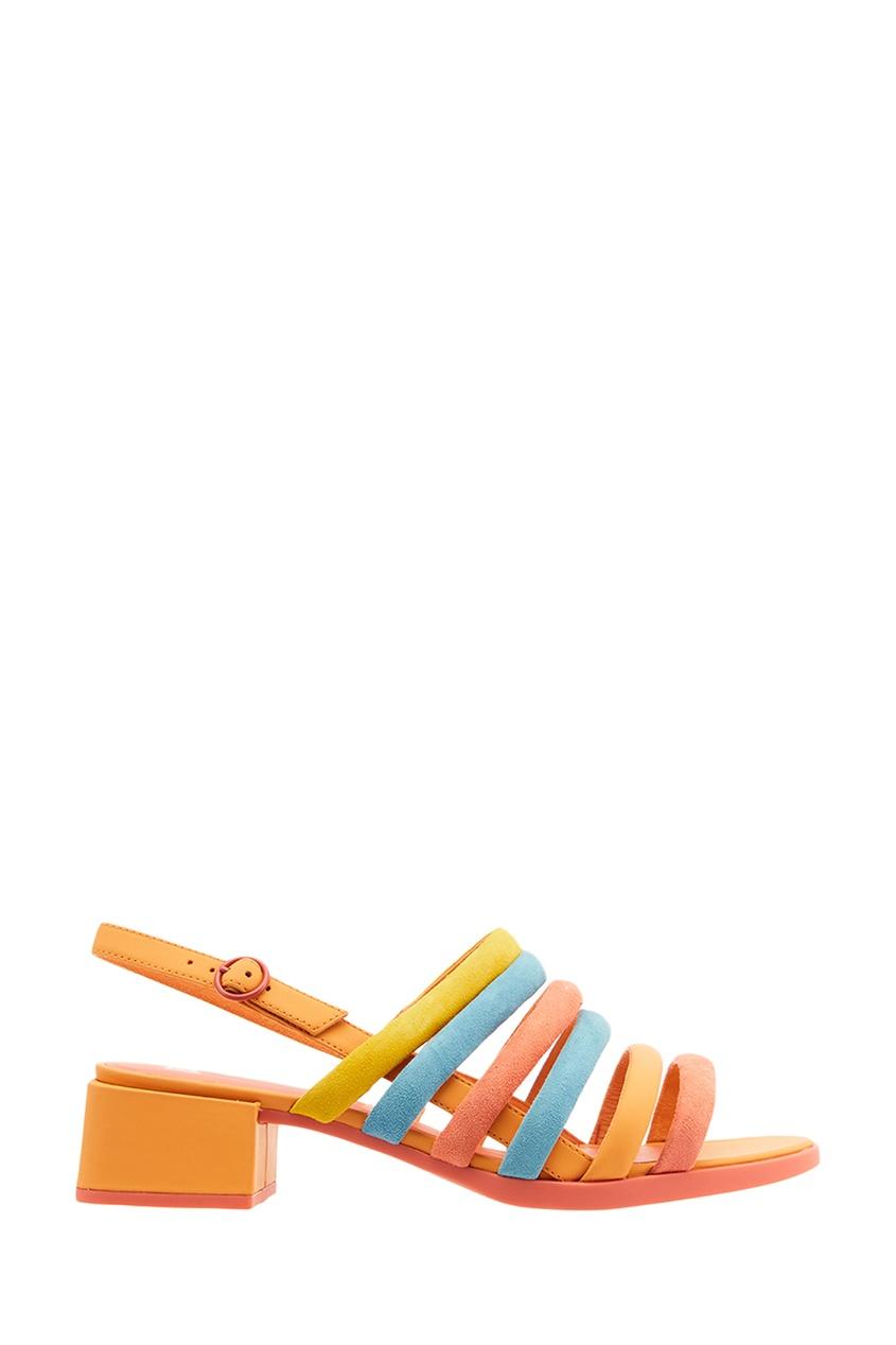 Camper Разноцветные босоножки из замши camper camper ca555agike75