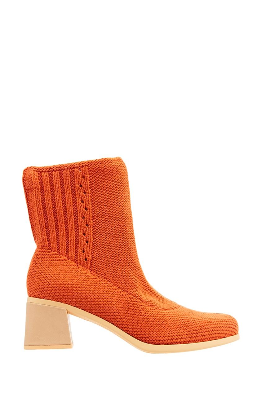 Camper Оранжевые ботинки из джерси camper camper ca555agike75