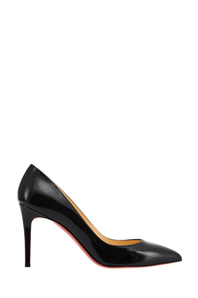 Черные лакированные туфли Pigalle 85