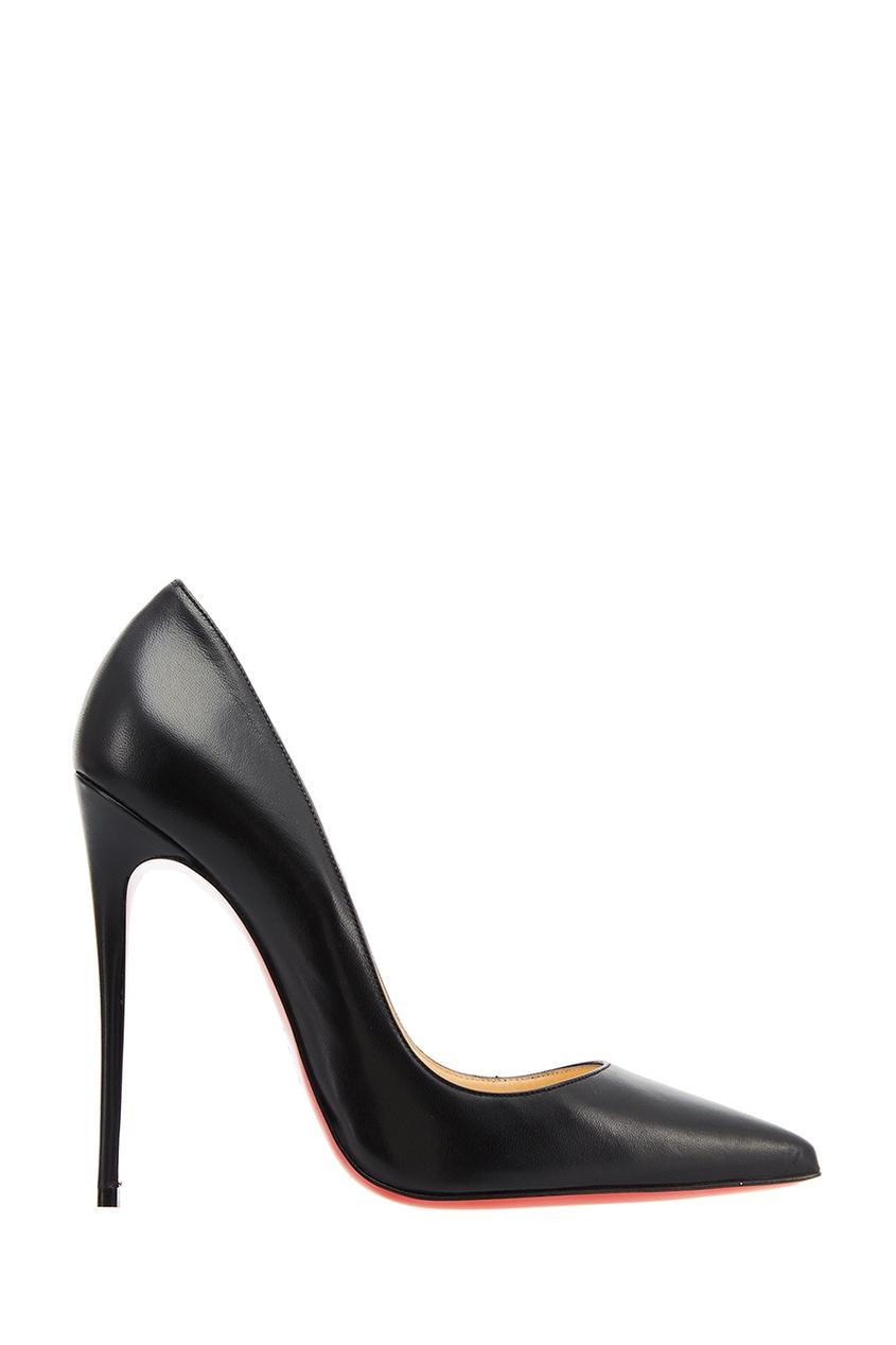 Черные кожаные туфли So Kate 120 Christian Louboutin