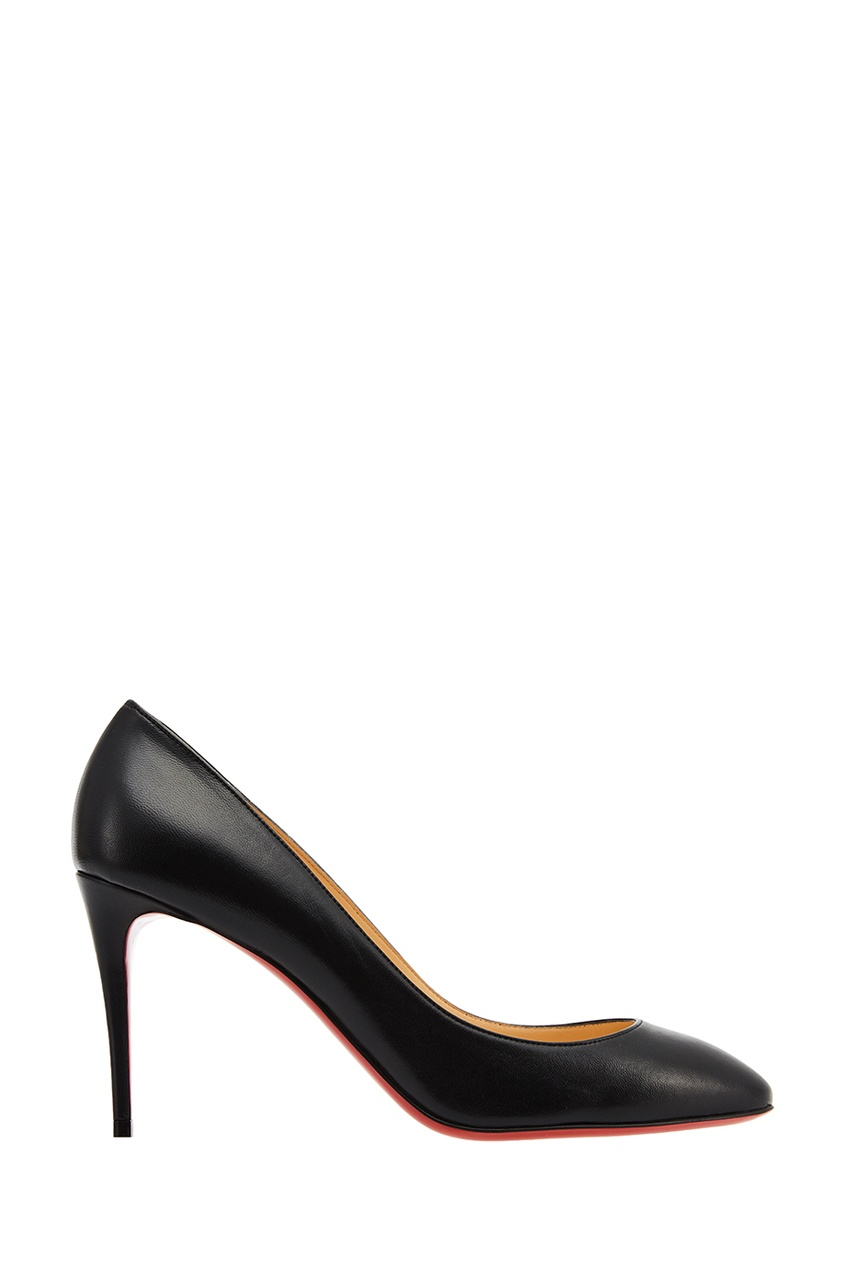 Черные кожаные туфли Eloise 85