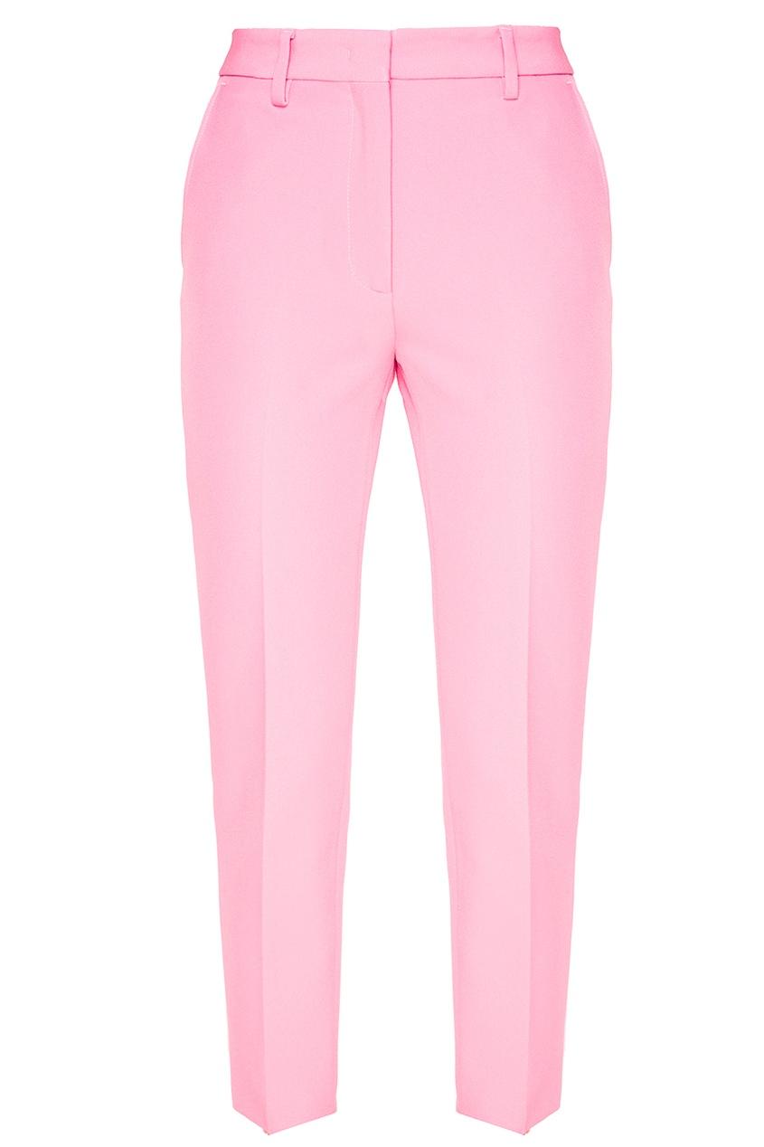 Розовые брюки со стрелками