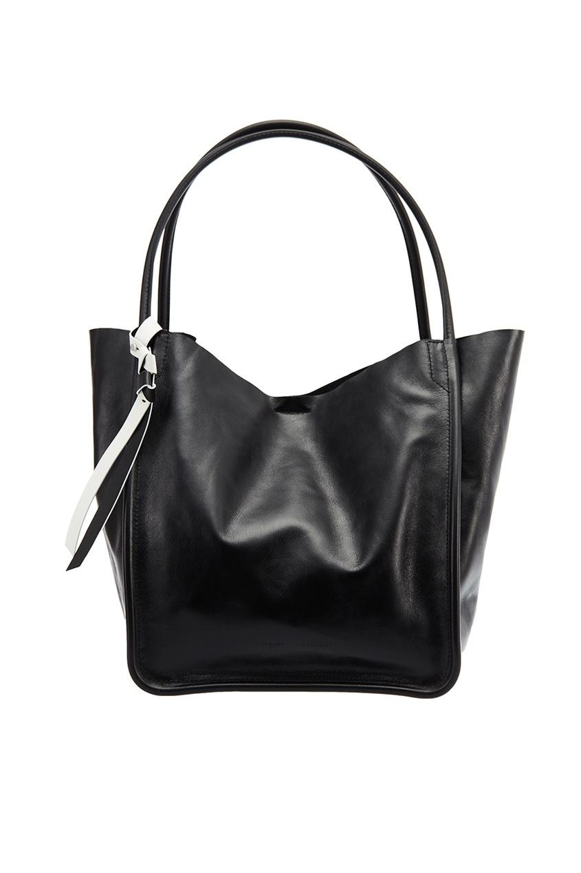 Черная сумка-шопер