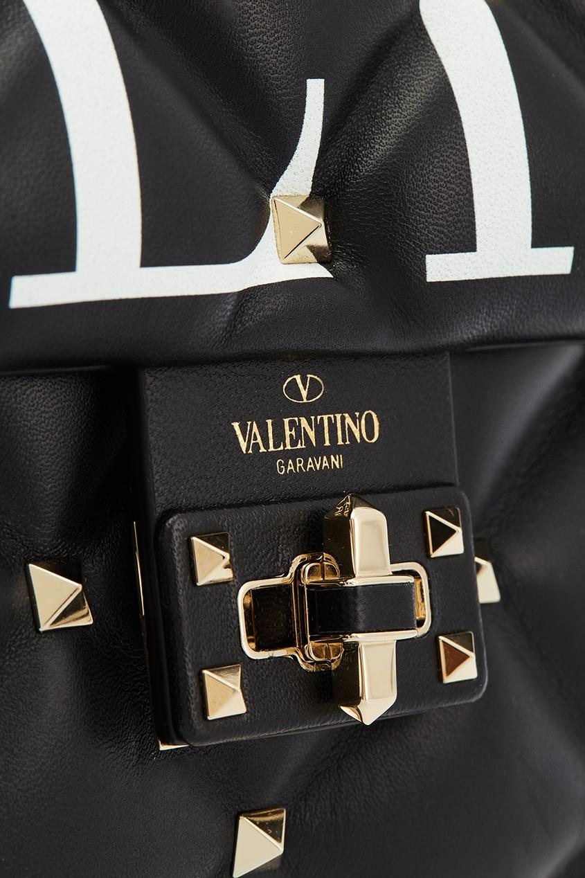 женская сумка valentino, черная