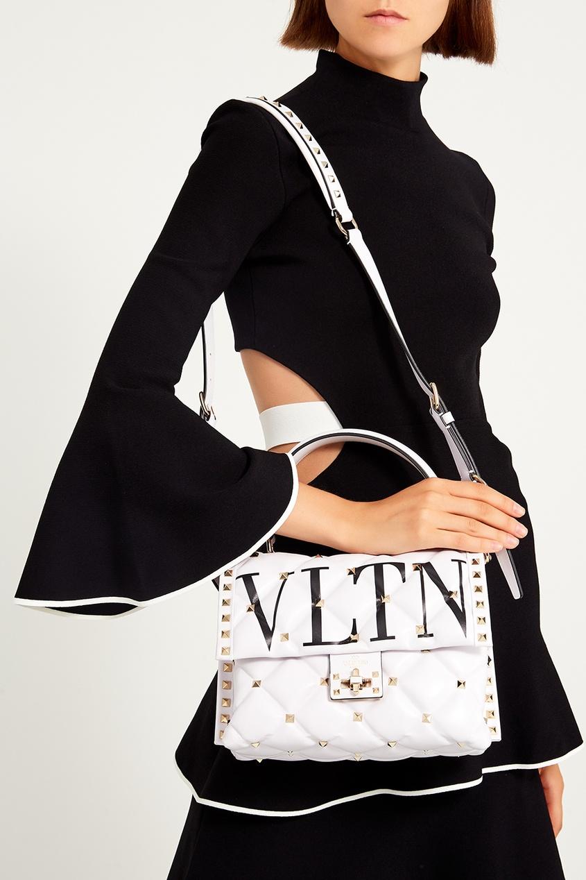 женская сумка valentino, белая