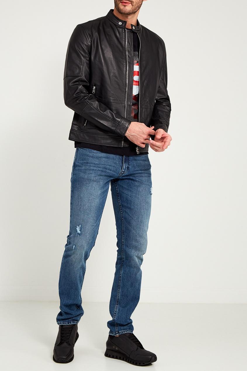 мужская футболка calvin klein, черная