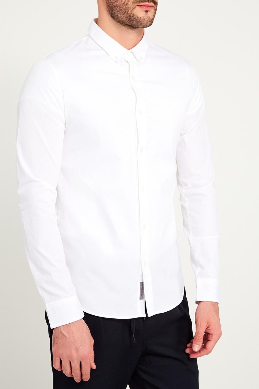 мужская рубашка calvin klein, белая