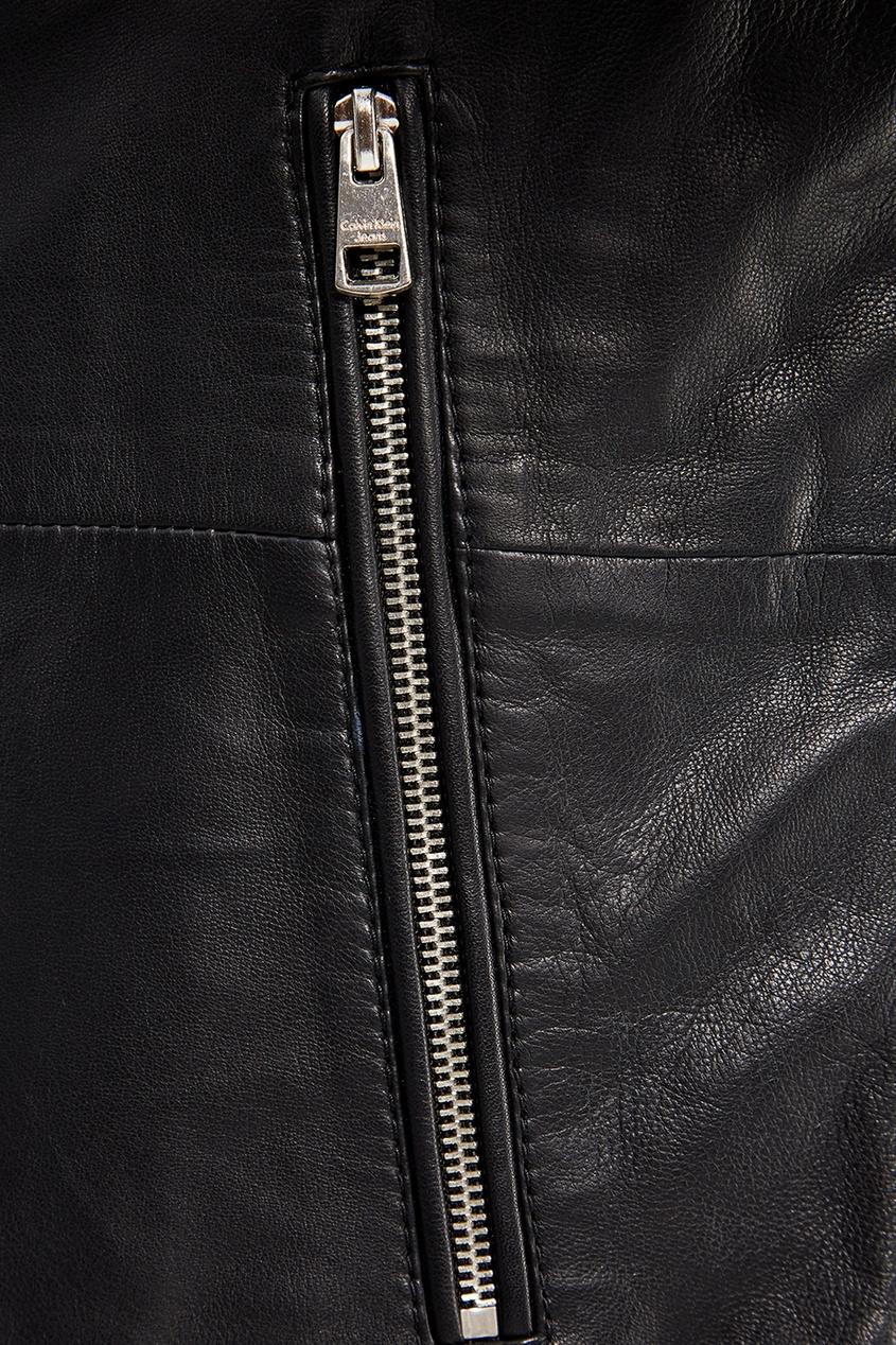 мужская куртка calvin klein, черная