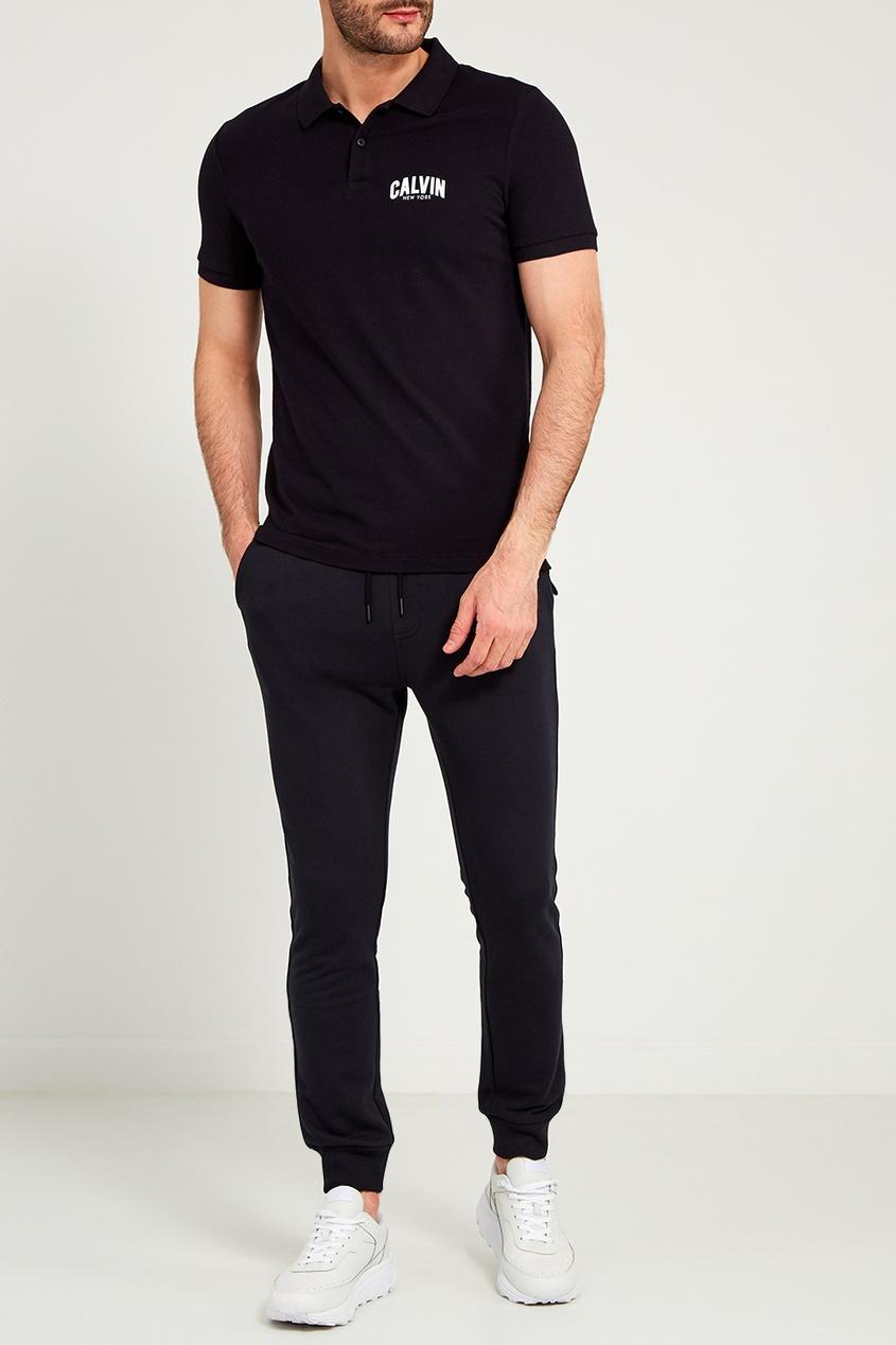 мужские брюки calvin klein, черные