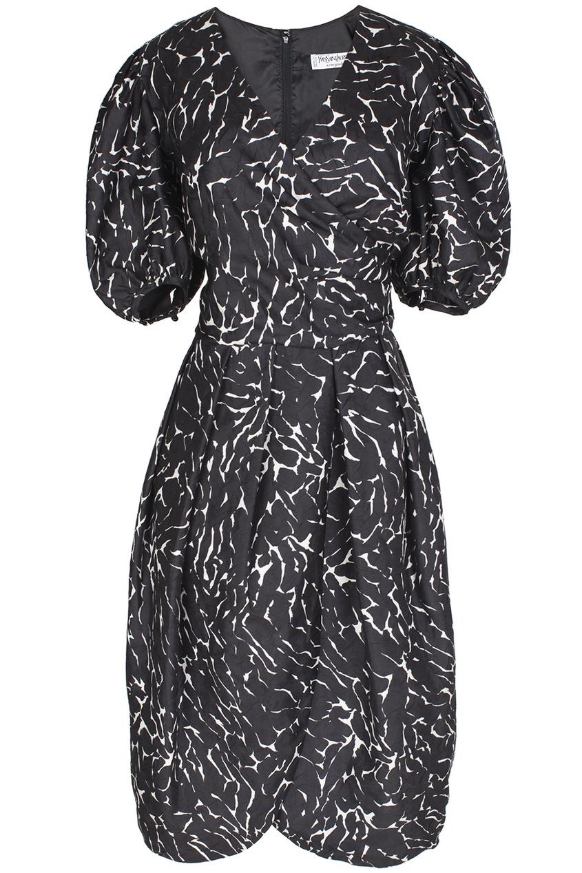 Шелковое платье(80-е гг.)
