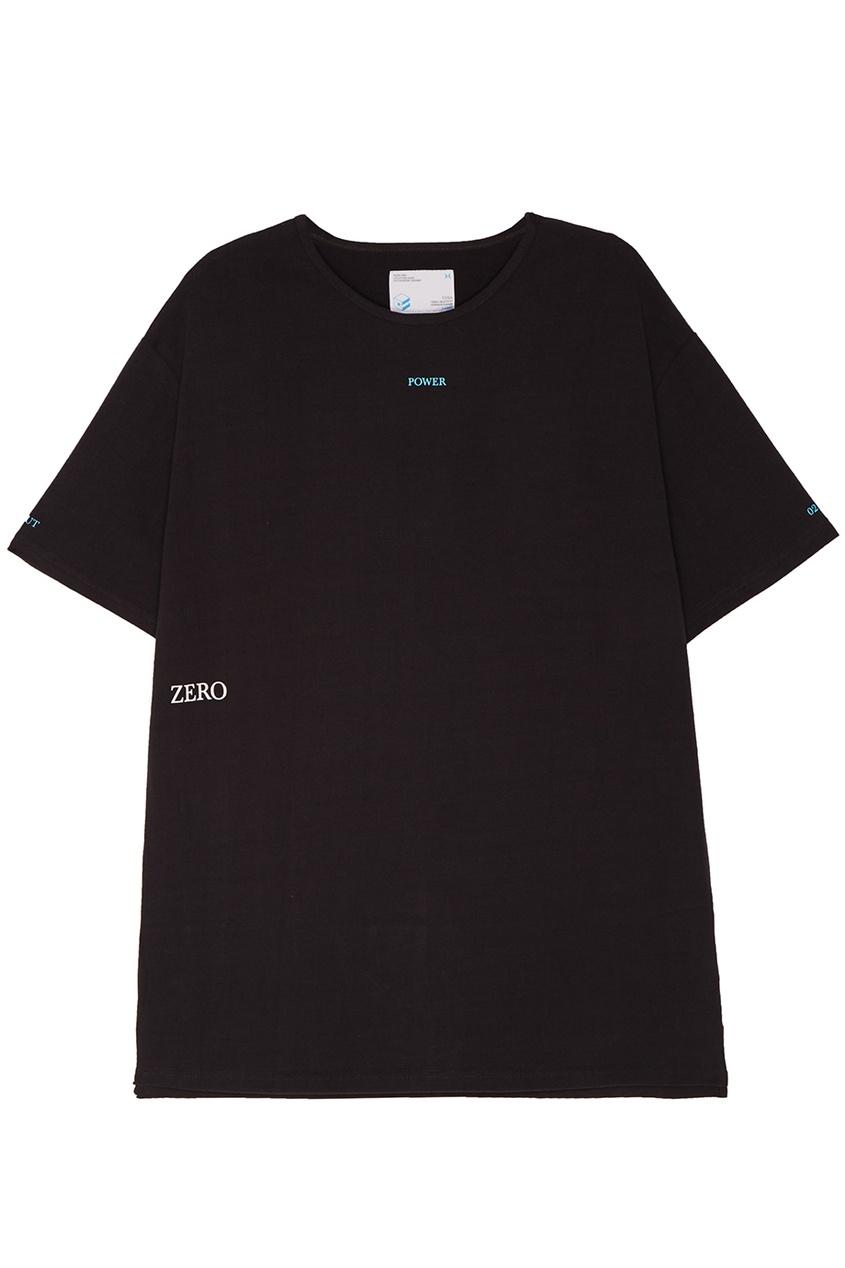 C2H4 Серая удлиненная футболка футболка c h i c