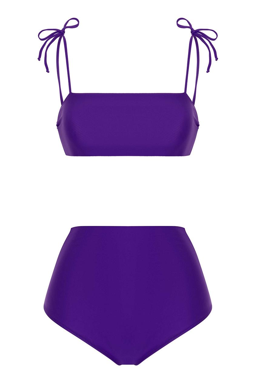 Фиолетовый купальник Bronislava