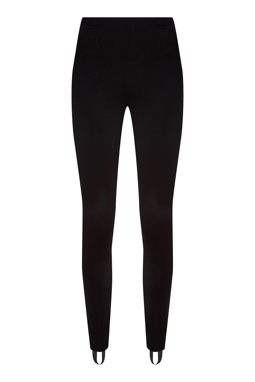 где купить Balenciaga Черные брюки со штрипками по лучшей цене