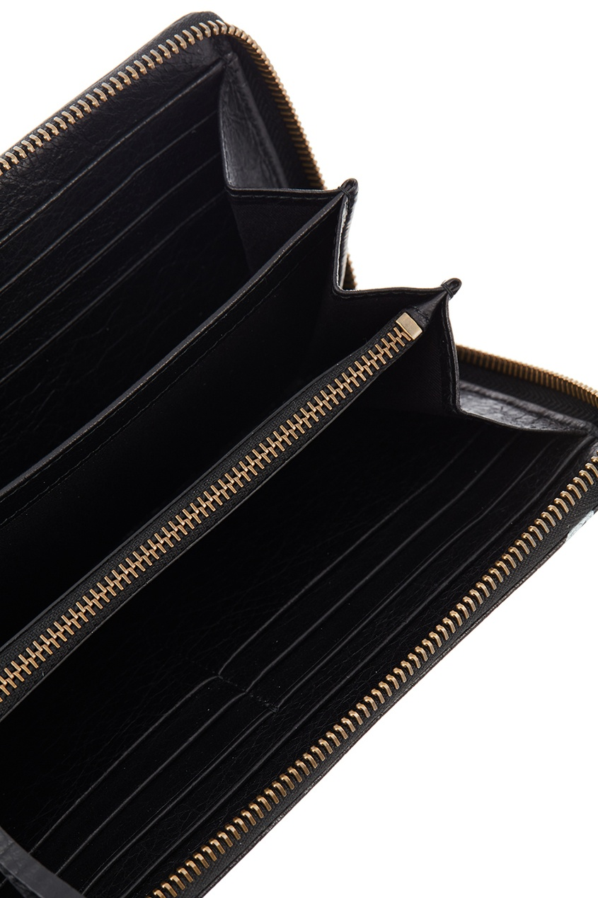женский кошелёк balenciaga, черный