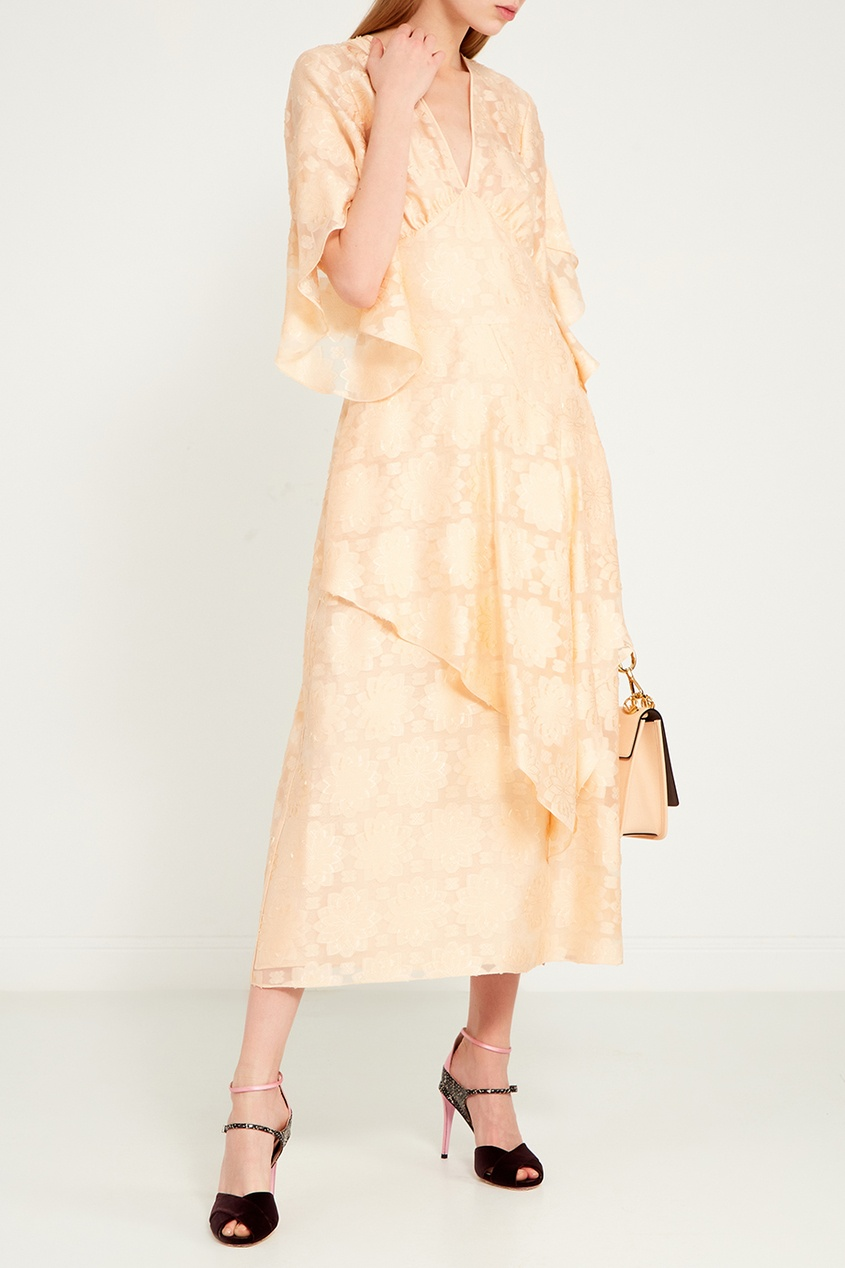 женская сумка fendi, розовая