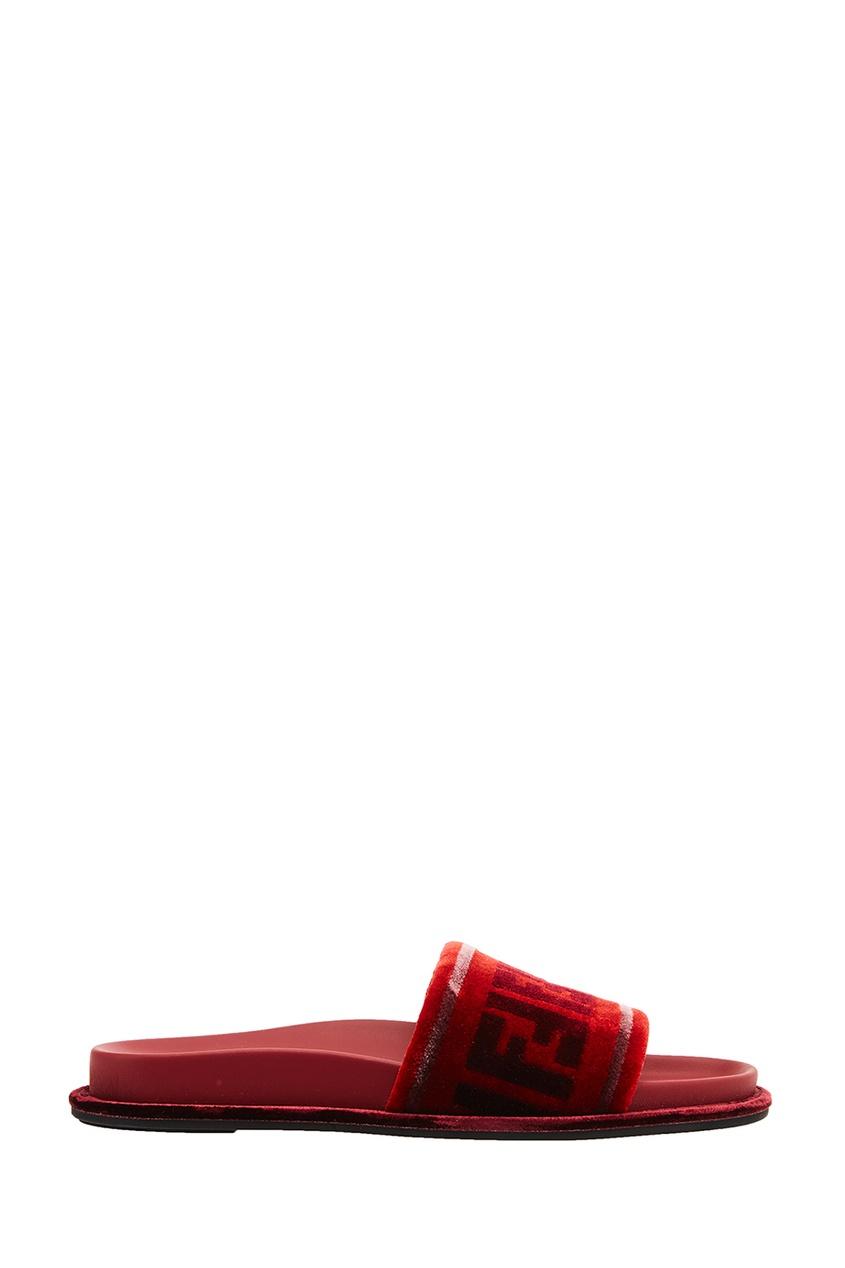 все цены на Fendi Сандалии из велюра