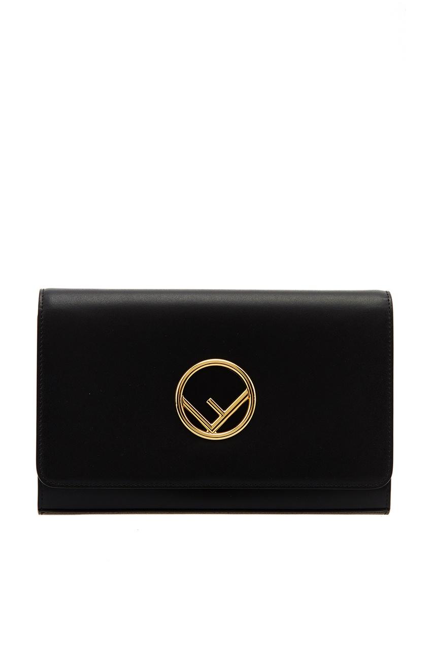 женская сумка fendi, черная